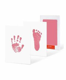 Mold Your Memories Baby Hand and Foot Ink Imprint Kit - Pink