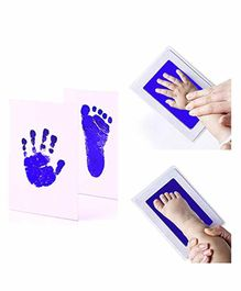 Mold Your Memories Baby Hand and Foot Ink Imprint Kit - Blue