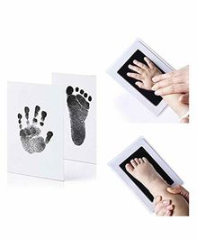 Mold Your Memories Baby Hand and Foot Ink Imprint Kit - Black