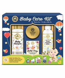 Mom & World Baby Care Collection Gift Pack of 4 - 200 ml, 120 ml