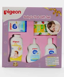 Pigeon Baby's First Gift Set of 5 - Pink