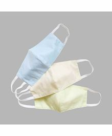 Masilo 100% Cotton Face Protection Masks Multicolour - Set of 3