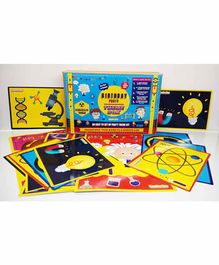 A&A Kreative Box Birthday Party Young Scientist Theme Decoration Set - 35 Pieces
