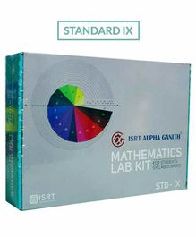Math Lab Kit ISRT Alpha Ganith Activity Box Standard 9 - Multicolour