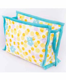 Blooming Buds Toiletry Bag - Yellow