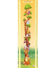 Dreamland Height Chart 2 - Multi Colour