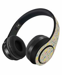 Macmerise Payal Singhal Colorful Fish Wireless On Ear Headphones - Multicolor
