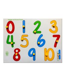 Skillofun - Numbers On Picture Tray 0 to 10