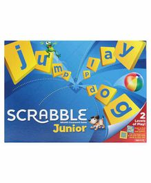 Mattel Junior Scrabble Crossword Board Game - Multicolour