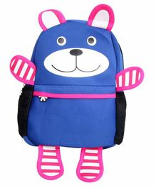 EZ Life Bag Happy Bear Print Blue - 16 Inches