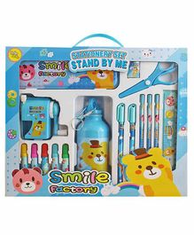 EZ Life Stationery Set Blue Pack of 1 - 17 Pieces
