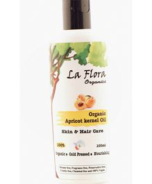 La Flora Organics Organic Apricot Kernel Oil Skin & Hair Care - 100 ml
