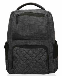 Lost & Found Mommy Daddy's Diaper Backpack - Dark Grey