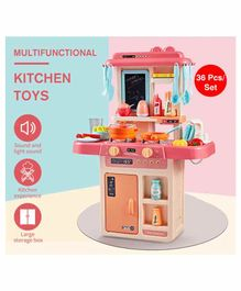 Fiddlerz Battery Operated Kitchen Play Set Multicolor - 36 Pieces