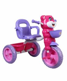 HLX NMC Tricycle with Lights & Music - Purple Pink