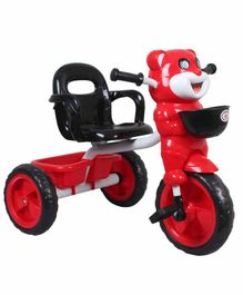 HLX-NMC Happy Tiger Tricycle with Lights and Music - Red