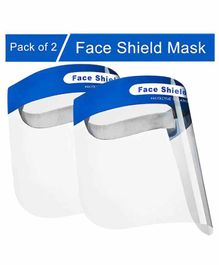 MCP Face Shield Mask Pack of 2 - Blue