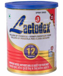 Lactodex 3 Follow Up Complementary Food - 450 gm