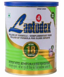 Lactodex Follow Up Formula Complementary Food  For Older Infants - 450 gm