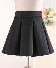 Fox Baby Solid Color Skirt - Black