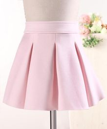 Fox Baby Solid Color Skirt - Light Pink