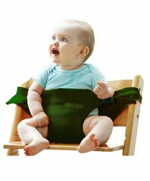 Magic Seat Cotton Baby Safety Belt - Green