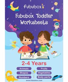 Fububox Activity Worksheet Box Pack of 35 - English