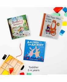 Fububox Toddler Book Box - English