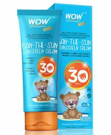 Wow Skin Science Sunscreen Cream with SPF 30 - 100 ml