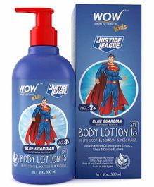 WOW Skin Science Guardian Superman Edition Kids Body Lotion SPF 15 - 300 ml