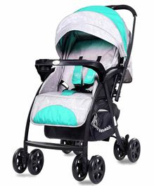 Rabbit Sugar Pop Ideal Baby Stroller & Pram - Green Grey