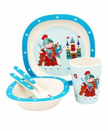 EZ Life 5 Piece Kids Meal Set - Multicolor