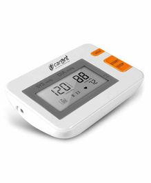 Carent Fully Automatic Upper Arm Digital Blood Pressure Monitor - Grey