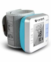Carent W02 Fully Automatic Wrist Blood Pressure Monitor- White