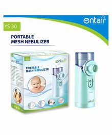 Entair Portable Mesh Nebulizer With USB Cable - Light Green