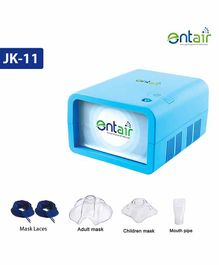 Entair Air Compressor Nebulizer With Complete Kit - Blue