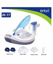 Entair Compressor Nebulizer With Complete Kit - White