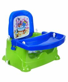 NHR 5 in 1 Multipurpose Booster Chair - Blue Green