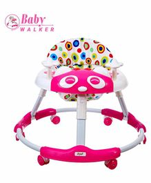 Dash Stylish Baby Walker with Music - Pink