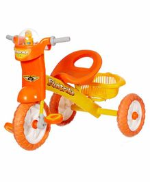 Dash Deluxe Tricycle with Music & Light - Orange