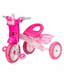Dash Deluxe Tricycle with Music & Light - Pink