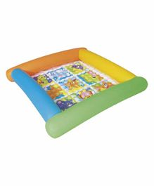 Bestway Inflatable Play Mat Animal Print - Multicolor
