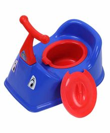 NHR Baby Potty Training Chair with Lid - Blue