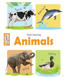 Pagasus Early Learning Animals Board Book - English