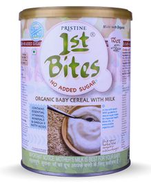 Pristine 1st Bites Rice No Added Sugar 6 to 24 Months - 400 gm