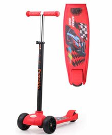 Little Pumpkin Classic Scooter with Adjustable Handle - Red