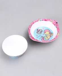 My Little Pony Bowl With Handle & Cone Bowl Set - Pink