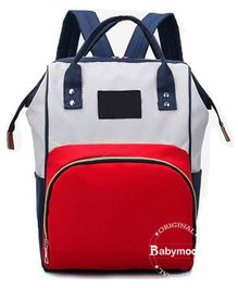 Babymoon Multifunctional Travel Diaper Backpack - Red Blue