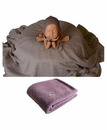 Babymoon Bean Bag Layer Photography Prop - Purple