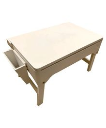 Kidoz Multi Purpose Study Table - Cream
